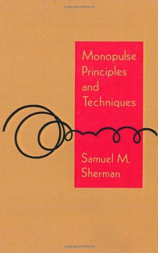 9780890061374: Monopulse Principles and Techniques