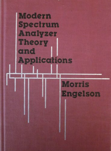 9780890061503: Modern Spectrum Analyzer: Theory and Applications