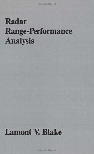 9780890062241: Radar Range-Performance Analysis (Artech House Radar Library)