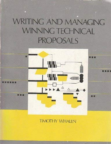 9780890062364: Writing and Managing Winning Technical Proposals (Artech House Microwave Library)