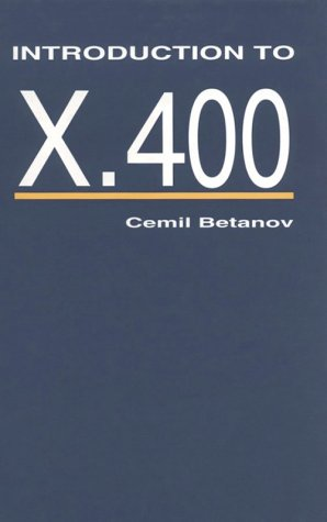 9780890065976: Introduction to X.400 (Telecommunications Library)