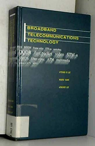 9780890066539: Broadband Telecommunications Technology (Telecommunications Library)