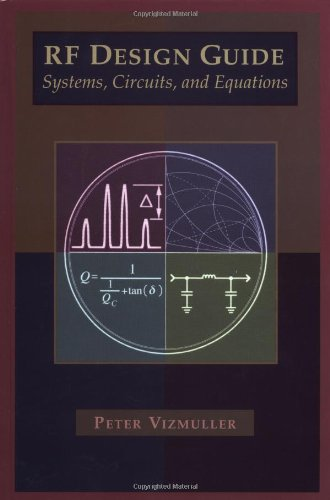 9780890067543: RF Design Guide Systems, Circuits and Equations (ARTECH HOUSE ANTENNAS AND PROPAGATION LIBRARY)