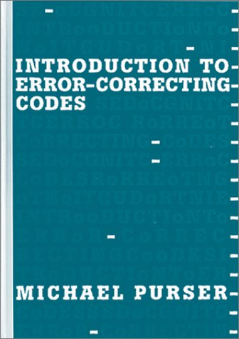 9780890067840: Introduction to Error-Correcting Codes