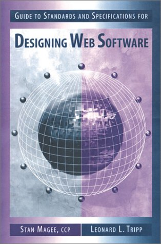 9780890068199: Guide to Standards & Specifications for Design Web Software (Artech House Computer Science Library)