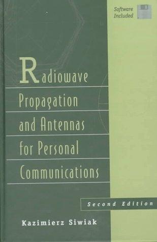 9780890069752: Radiowave Propagation Antennas (Artech House Antenna Library)