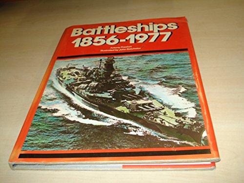 9780890091265: Battleships 1856-1977
