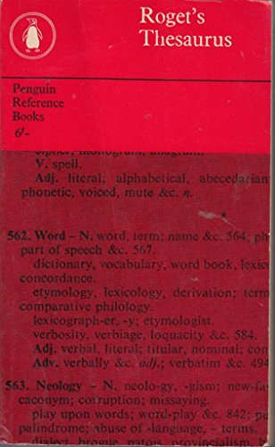 9780890092453: Roget's Thesaurus of English words and phrases