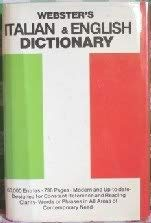 Webster's Italian and English Dictionary
