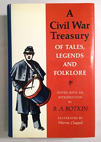 9780890099674: A Civil War Treasury of Tales, Legends, and Folklore