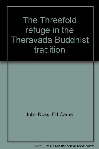 9780890120309: The Threefold refuge in the Theravada Buddhist tradition