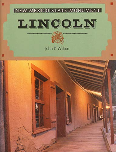 9780890132432: New Mexico State Monuments: Lincoln