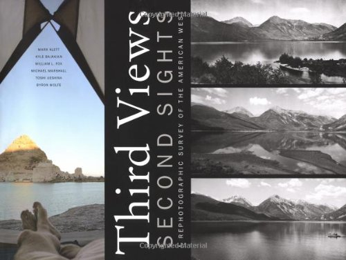 9780890134320: Third Views, Second Sights: A Rephotographic Survey of the American West