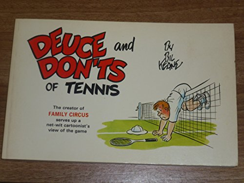 9780890190456: Deuce and don'ts of tennis