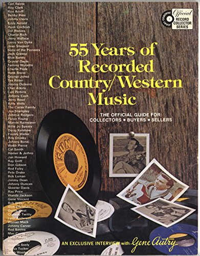 55 Years of Recorded Country/western Music: Osborne, Jerry; Hamilton,