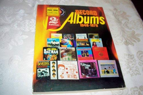 Record albums, 1948-1978 (9780890190661) by Osborne, Jerry