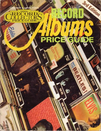 9780890190746: Record albums (Osborne & Hamilton's original record collectors price guide)