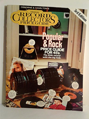 Popular & Rock Price Guide for 45's: Osborne, Jerry with