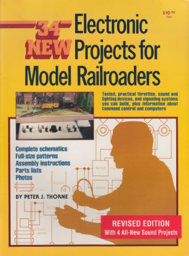 9780890240397: 34 New Electronic Projects for Model Railroaders