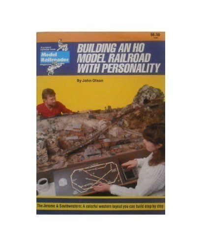 9780890240427: Building an Ho Model Railroad With Personality