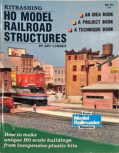 9780890240595: Kitbashing HO model railroad structures