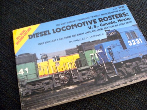 9780890240847: Diesel locomotive rosters: U.S., Canada, Mexico