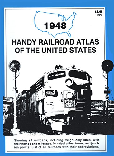 1948 Handy Railroad Atlas of the United