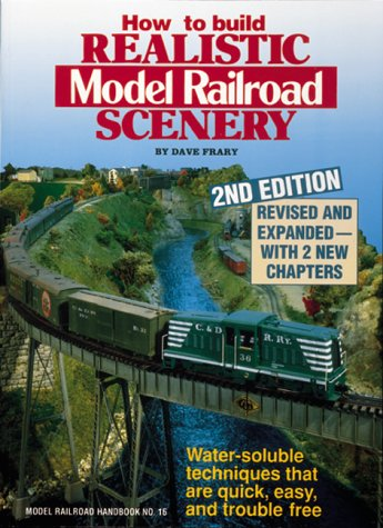 9780890241240: How to Build Realistic Model Railroad Scenery (Model Railroad Handbook)