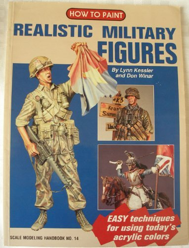 9780890241257: How to Paint Realistic Military Figures (Scale Modeling Handbook, No 14)