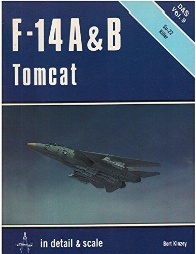 9780890241653: F-14 A & B Tomcat in detail & scale - D&S Vol. 9