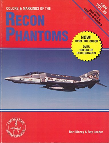 Colors and Markings of the Recon Phantoms: Kinsey, Bert and