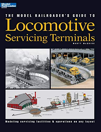 9780890244142: Model Railroader's Guide to Locomotive Servicing Terminals (English and 1964/ Special)