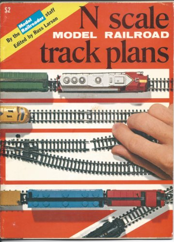 9780890245095: N Scale Model Railroad Track Plans