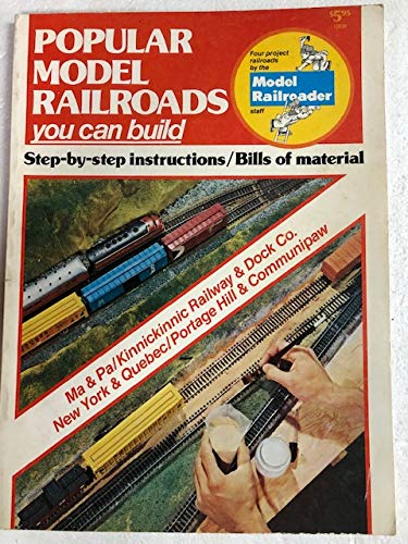 9780890245309: Popular Model Railroads You Can Build