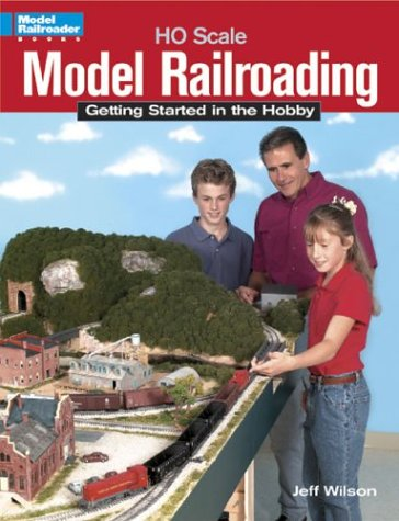 9780890245750: Ho Scale Model Railroading: Getting Started in the Hobby (Model Railroader Books)