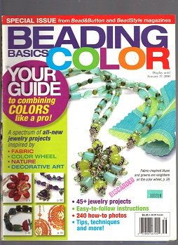 9780890246504: Beading Basics: Color December January 2006. Combining Colors Like a Pro!