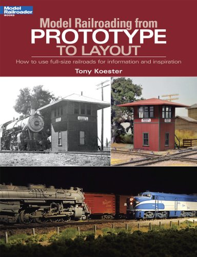 9780890247976: Model Railroading from Prototype to Layout (Model Railroader)