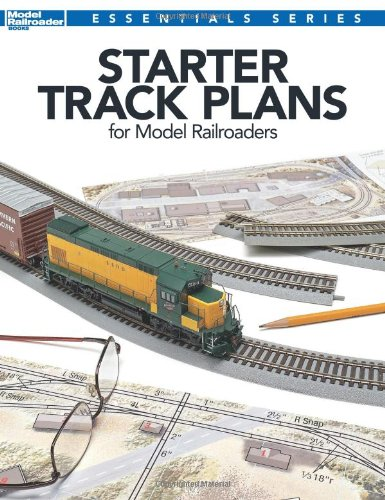 9780890248317: Starter Track Plans for Model Railroaders (Model Railroader Books Essentials Series)