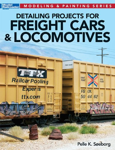 9780890249437: Detailing Projects for Freight Cars & Locomotives (Modeling & Painting)