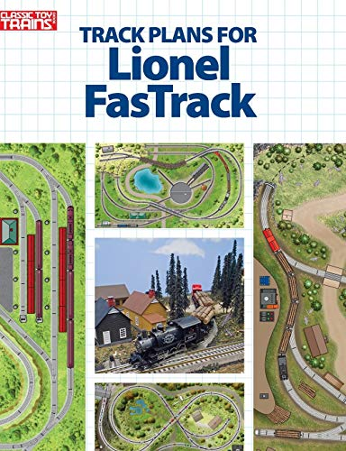 9780890249666: Track Plans for Lionel Fastrack (Classic Toy Trains Books)