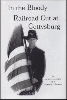 9780890297384: In the Bloody Railroad Cut at Gettysburg