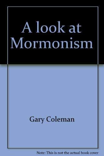 A look at Mormonism