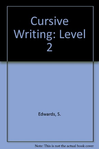 9780890390511: Cursive Writing: Level 2