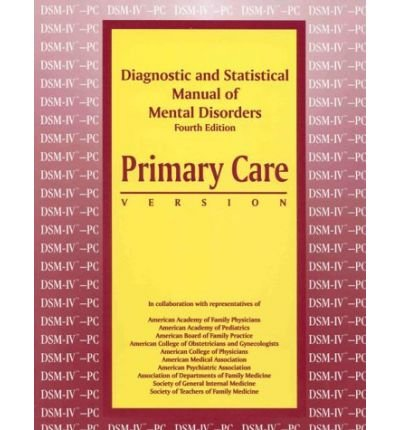 9780890420683: Diagnostic and Statistical Manual of Mental Disorders: Dsm-IV : International Version With Icd-10 Codes