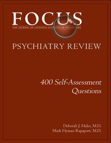 9780890422977: FOCUS Psychiatry Review: 400 Self-Assessment Questions