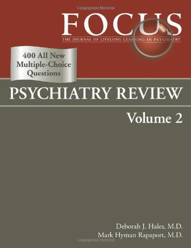 2: Focus Psychiatry Review: Deborah J. Hales,