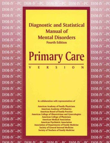 Diagnostic and Statistical Manual of Mental Disorders,: APA