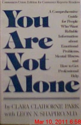 9780890431023: You Are Not Alone Understanding and Dealin