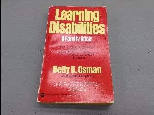 9780890431122: Learning disabilities: A family affair