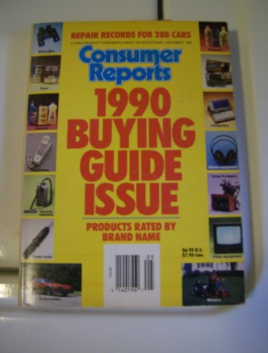 9780890433331: 1990 Buying Guide Issue (Consumer Reports Buying Guide)